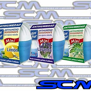 Imagen Aire Pur Mini Antihumedad X 75G Desodorante