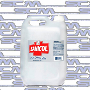Alcohol En Gel SANICOL bidon x 5L