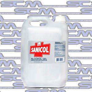 Alcohol En Gel SANICOL bidon x 5L