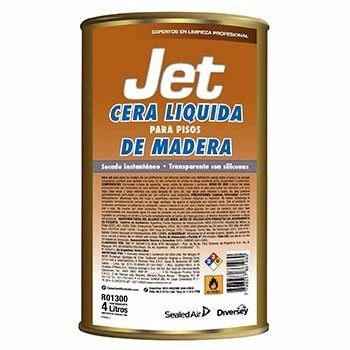 Cera Para Madera «Jet» Lata X 4L