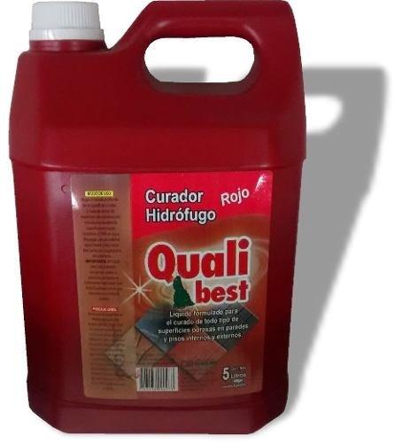 Curador Hidrofugo X5L Qualibest Rojo