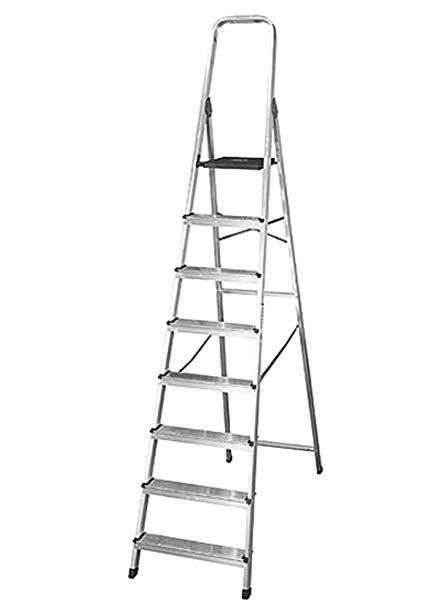 Escalera Aluminio Profesional 8 Esc