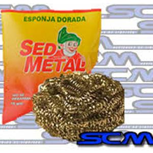 Esponja De Bronce Sed Metal X 50G