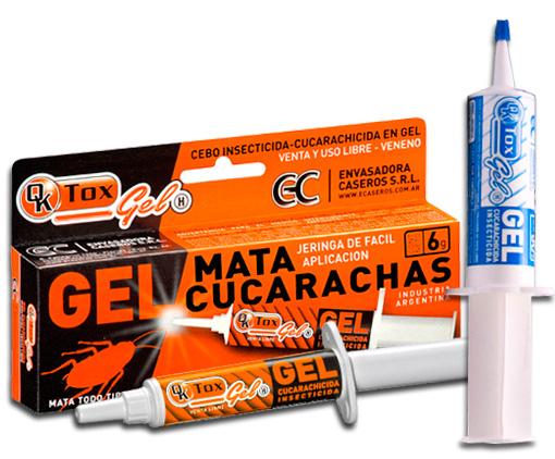 Jeringa Gel Cucarachas X 6G Qk Tox