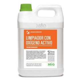 Limpiador Con Oxigeno Activo Seiq X 5L