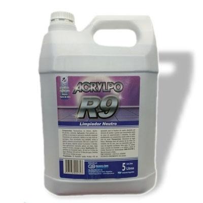 Limpiador Neutro R9 X5L Acrylpo Qualibe