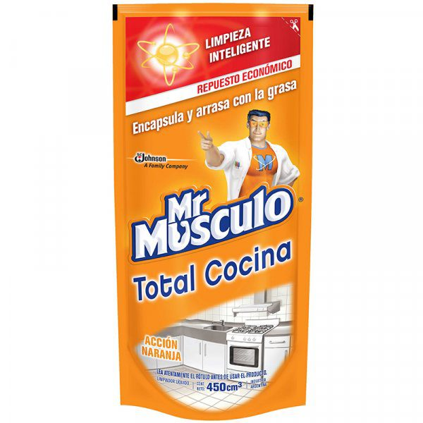 Mr Musculo Accion Naranja Doy Pak X 500