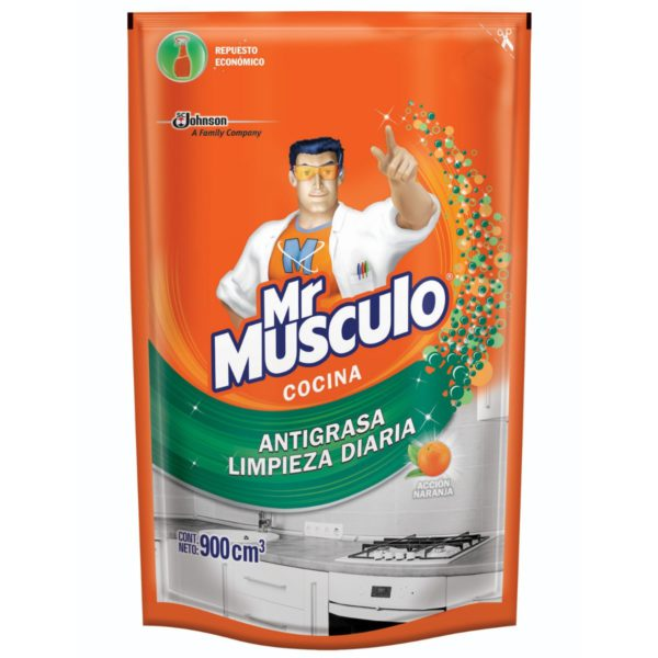 Mr Musculo Accion Naranja Doy Pak X 900