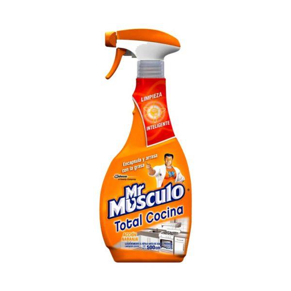 Mr Musculo Accion Naranja Gatillo X500