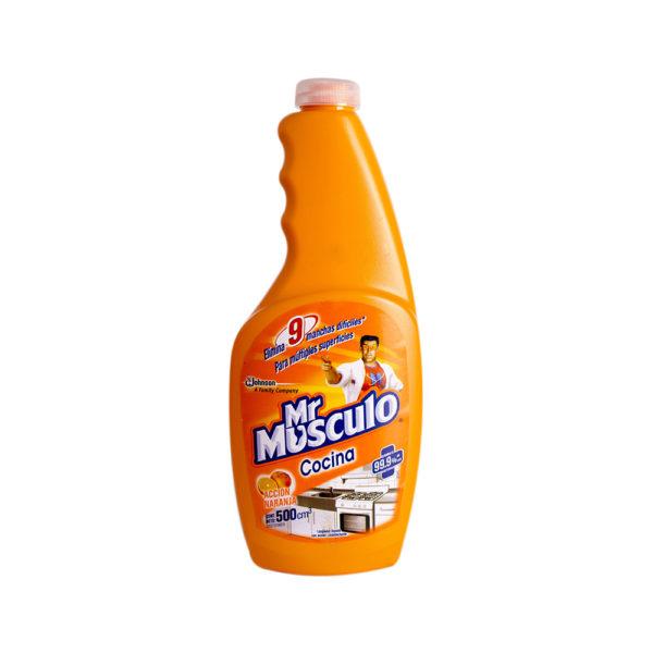 Mr Musculo Accion Naranja Repuesto X500C