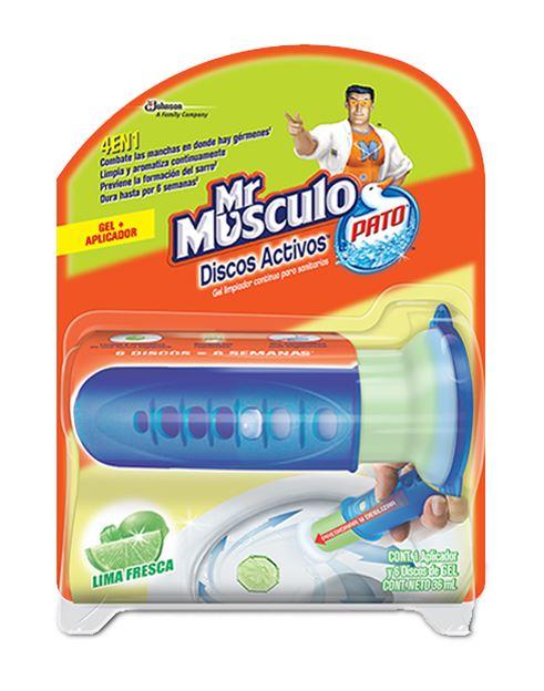 Mr Musculo Discos Activos Completo