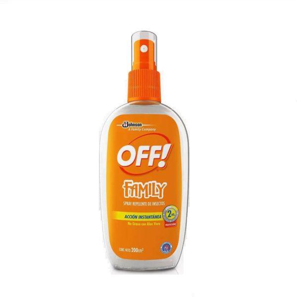 Off Repelente Spray X 200 Family