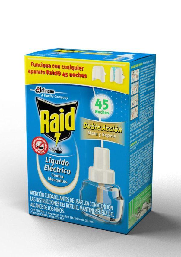 Raid Liquido Electrico Repuesto Nuevo