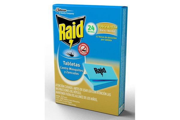 Raid Pastillas De Mosquitos X 24U
