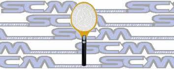 Raqueta Mata Mosquitos Electronica