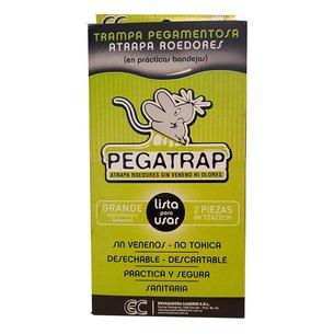 Raticida Pegatrap Grande 12X22 Cm