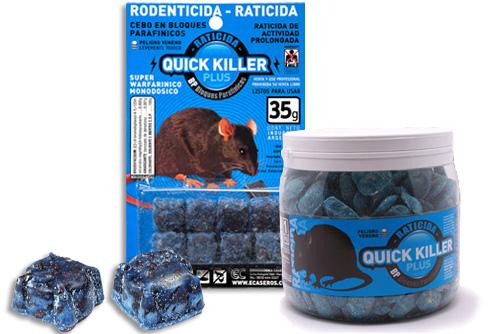 Raticida Quick Killer Plus X 50 Grs