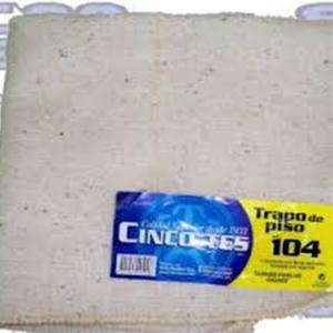 Trapo De Piso 5T 104 Blanco