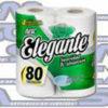 Papel Higienico Elegante 80mts doble hoja 48 rollos