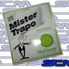Imagen Microfibra Mister Trapo Multiuso verde 40x40