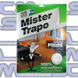 Microfibra Mister trapo Pisos Premium Envasado
