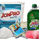 Jabón Líquido, de tocador y en Polvo