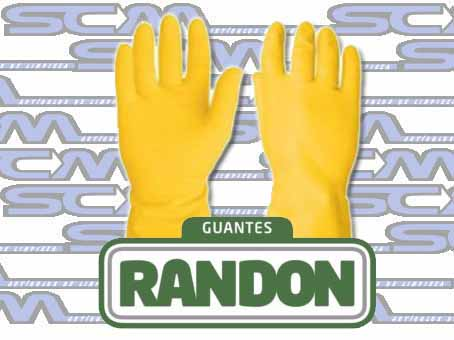 GUANTE NITRILO RANDON PAR SCM